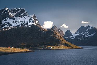 Norway, Lofoten, Fjord - STCF000105