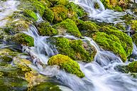 Croatia, Plitvice National Park, Waterfall in the rocks - LOMF000160