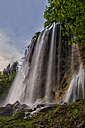 Croatia, Plitvice Lakes National Park, Waterfall - LOMF000163
