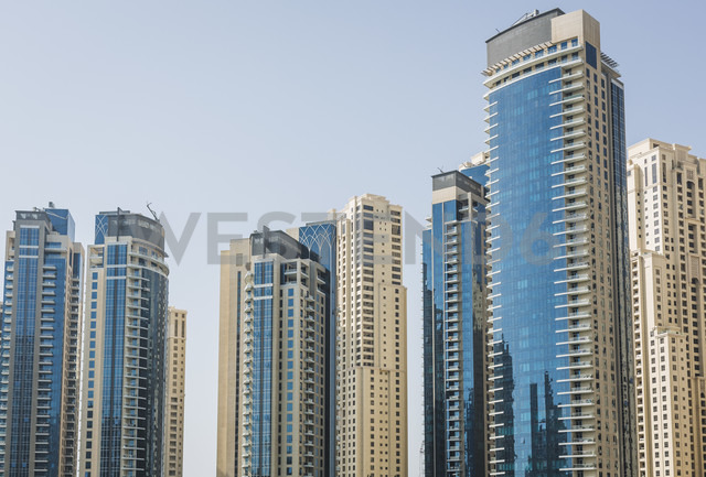 UAE, Dubai, skyscrapers - MAUF000205