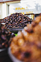 UAE, Dubai, dried dates in a shop - MAUF000214