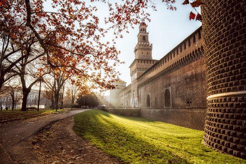 Italy, Milan, Castello Sforzesco - DAW000406