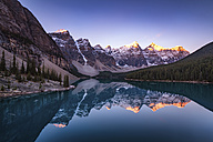 Canada, Alberta, Glacial, Moraine Lake, Banff National Park - SMAF000411
