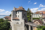 Germany, Meersburg castle at Lake Constance - SIE006908