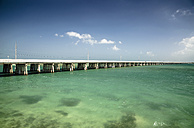 USA, Florida, Florida Keys, Seven Mile Bridge - STCF000126
