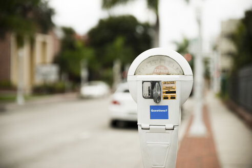 USA, Florida, Fort Myers, parking meter - CHPF000166