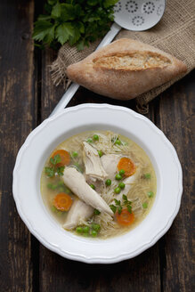 Dish of chicken soup - CSF027017