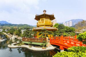 China, Hong Kong, Chi Lin Nunnery - HSI000388