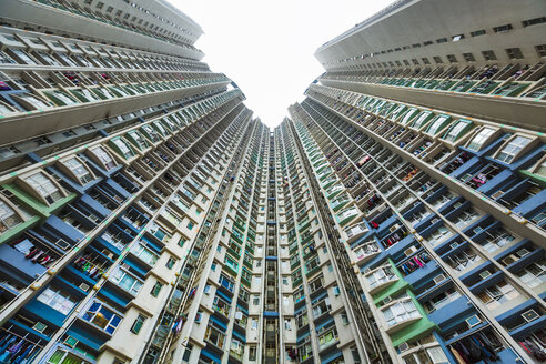 China, Hong Kong, Kowloon apartement buildings - HSIF000391