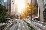 China, Hong Kong, Traffic in Central Hong Kong - HSIF000397