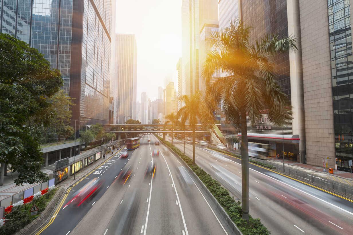China, Hong Kong, Traffic in Central Hong Kong - HSIF000397 - hsimages/Westend61