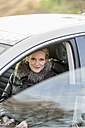 Woman in car - CHPF000187