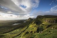 United Kingdom, Scotland, Isle of Skye, Quiraing in the morning light - ELF001732