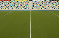 Hockey stadium, artifical turf and grand stand - GUF000200