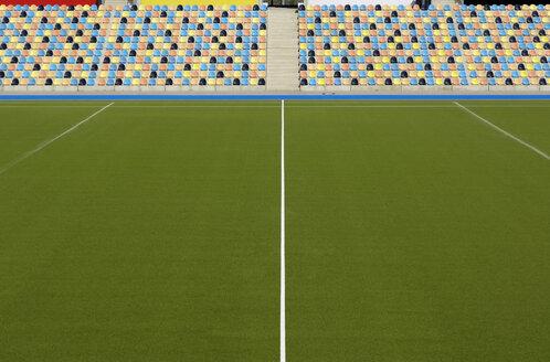 Hockey stadium, artifical turf and grand stand - GUF000200