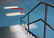 Access to indoor swimming pool with aqua noodle - WWF003909