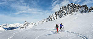 France, Les Contamines, ski mountaineering - ALRF000294