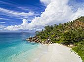Seychelles, Praslin, beach - FOF008366