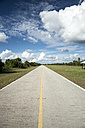 USA, Florida, Everglades, road - CHPF000194