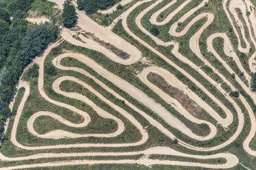 Aerial view of motocross track Reisersberg - KLEF000042