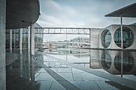 Germany, Berlin, view to Marie-Eisabeth-Lueders- and Paul-Loebe-Building in winter - ASCF000460
