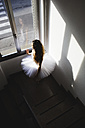 Ballerina in a tutu at the window - MRAF000002