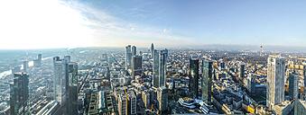Germany, Hesse, Frankfurt, Panorama, Skyline - AMF004693