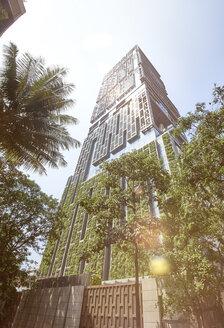 India, Maharashtra, Mumbai, Antilia building - DISF002355