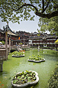 China, Shanghai, Pond in Yu Garden - NK000445