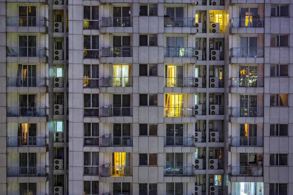 China, Shanghai, Detail of residential highrises - NKF000451 - Stefan Kunert/Westend61