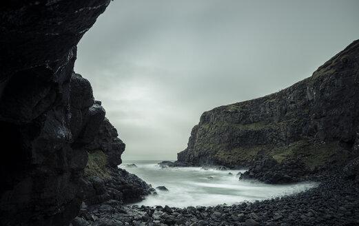 Ireland, near by Giant's Causeway, Atlantic Coast, bay - STCF000160
