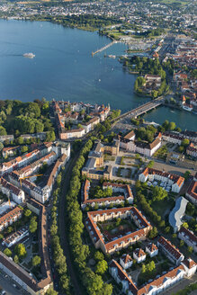 Germany, Lake Constance, Aerial view, Konstanz - SHF001823