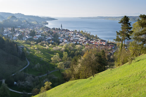 Germany, Sipplingen, View over town and Lake Constance - SHF001844