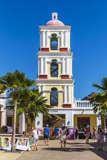 Cuba, Cayo Santa Maria, Pueblo La Estrella, viewing tower - MAB000363