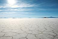 Bolivia, Atacama, Altiplano, Salar de Uyuni, Uyuni salt flats - GEMF000708