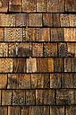 Wood shingles, close-up - UMF000810