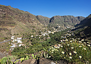 Spain, Canary Islands, La Gomera, Valle Gran Rey, Mountain village Los Granados - SIEF006950