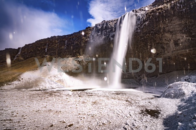 Iceland, Seljalandsfoss Waterfall - SMAF000423