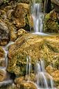 Spain, Tarragona, Ports de Beceit, Les Gubies del Parrisal, Waterfall - DSGF000878
