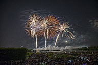 Germany, Hannover, international fireworks competition at Herrenhausen Gardens - PVCF000772