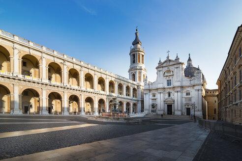 Italy, Loreto, Piazza della Madonna, Basilica of the Holy House, Palazzo Apostolico - CSTF000940