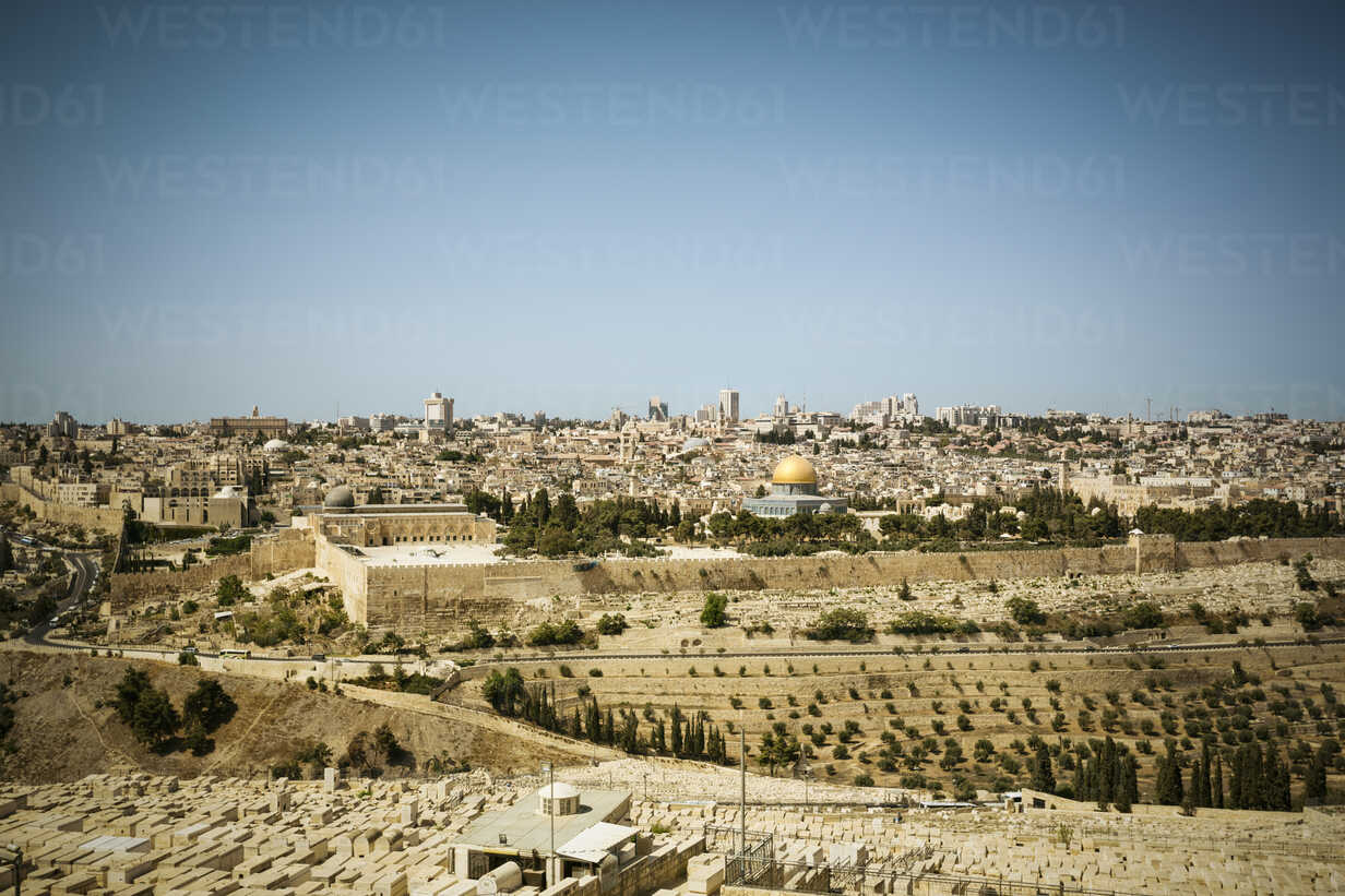 Israel, Jerusalem, cityscape with Dome of the Rock - REAF000067 - realitybites/Westend61