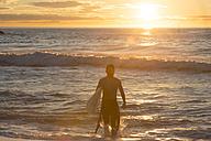 Surfer at sunrise - SKCF000071