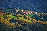 Spain, Asturias, Natural Park of Fuentes del Narcea, Degana and Ibias in autumn - DSGF000942