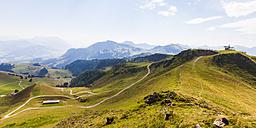 Austria, Tyrol, Kitzbuehel, landscape at Kitzbuehel Horn - WDF003545