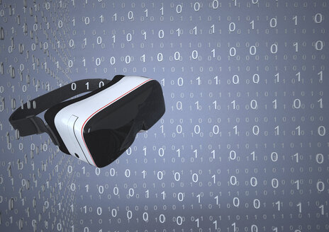 Virtual Reality Glasses in a digital room - ALF000680