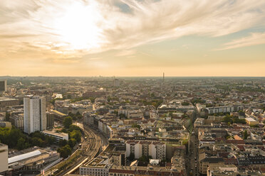 Germany, Berlin, cityscape at backlight - TAMF000367