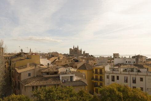 Spain, Palma de Mallorca, view to the city - VIF000464