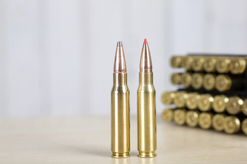 Leaded and unleaded rifle ammunition, rifle cartridges - DRF001692