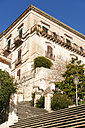 Italy, Sicily, Modica, House and stairway - CSTF000986